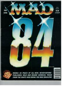 MAD EIGHTY FOUR NN FN published in 1984,surprise,surp