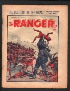 Ranger  7/21/1934-British pulp stories-early robot cover-VG