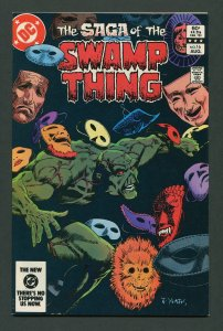 Swamp Thing #16  (2nd Series)  9.2 NM-  August 1983