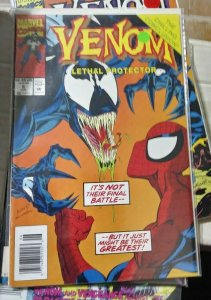 VENOM- LETHAL PROTECTOR   #6  1996 marvel  MINI SERIES +SPIDER MAN