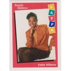 1991 Impell Laffs FAMILY MATTERS-KELLIE WILLIAMS #31