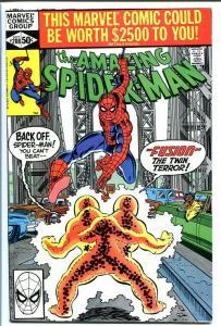 AMAZING SPIDER-MAN #208-VF/NM-Bronze Age-High Grade VF/NM
