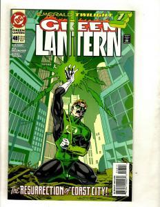 Lot Of 5 Green Lantern DC Comic Books # 48 49 50 51 52 Emerald Twilight NM GK5