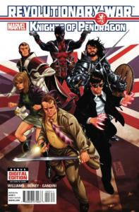 Revolutionary War: Knights of Pendragon #3, NM (Stock photo)