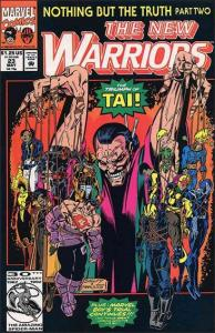 Marvel THE NEW WARRIORS (1990 Series) #23 VF/NM