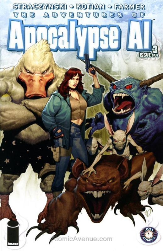Apocalypse Al #3B VF/NM; Image | combined shipping available - details inside