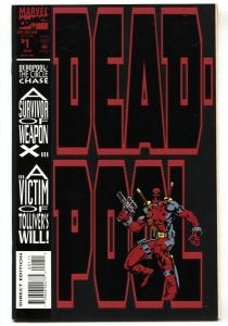 Deadpool: The Circle Chase #1 - 1st solo comic NM-