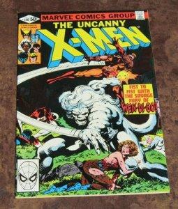 The Uncanny X-Men #140 VF 1980 Marvel Comic Wendigo Vs Wolverine John Byrne Art