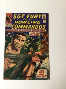 Sgt. Fury And Hia Howling Commandoes 23 5.0 Vg/fn Very Good / Fine Silver Age