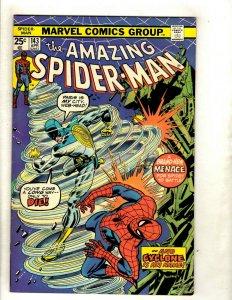 Amazing Spider-Man # 143 VF Marvel Comic Book Lizard Mary Jane Kingpin RS1