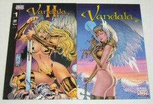 Vandala #1-2 VF/NM complete series - peter david - dorian cleavenger II chaos