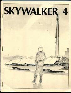 Skywalker #4 1980-  Early Star Wars Fanzine Fan Fiction 200+ pages