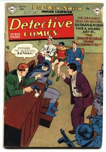 Detective Comics #176 1951- Batman- Robin- Robotman VG