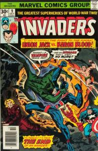 Invaders (1975 series) #9, Fine- (Stock photo)