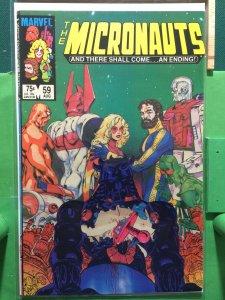 Micronauts #59