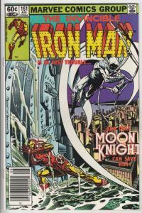 Iron Man #161 (Jul-82) NM- High-Grade Iron Man