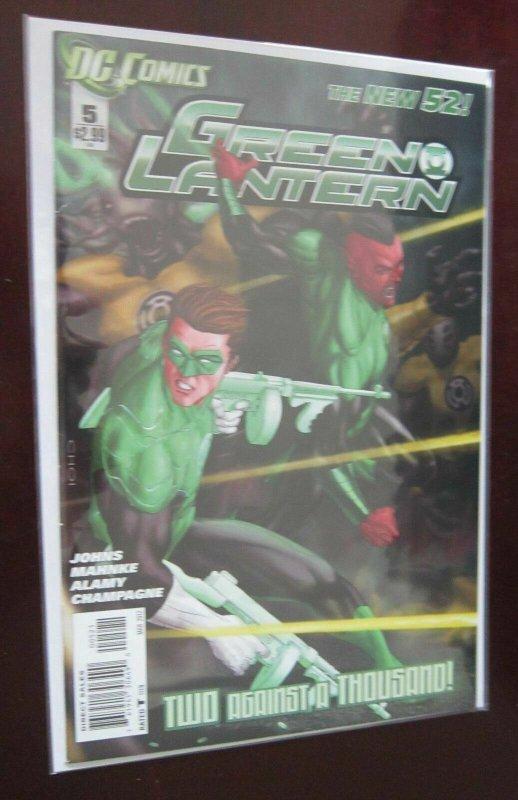 Green Lantern (2011 4th Series), SET:#1-8, + 5B, 8.0/VF