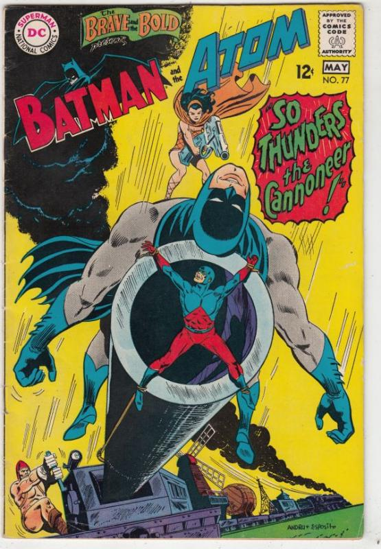Brave and the Bold, The #77 (May-68) FN+ Mid-High-Grade Batman