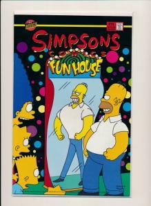 Bongo Comics -SIMPSONS Comics FUN HOUSE #18 VERY FINE/NEAR MINT (PF621)