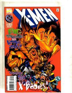 Lot of 12 X-Men Marvel Comic Books #47 48 48 49 50 51 52 53 54 55 56 57 EK5