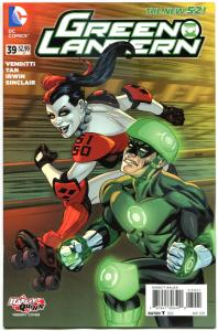 GREEN LANTERN #39, NM, Harley Quinn, 2011, New 52, Variant, more HQ in store