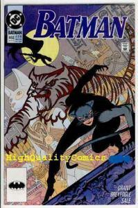 BATMAN #460, NM+, Alan Grant, 1991, Catwoman, Gotham City, more BM in store
