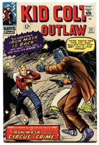 KID COLT OUTLAW #127 1966 Iron Mask cover - Marvel - Western NM- High Grade
