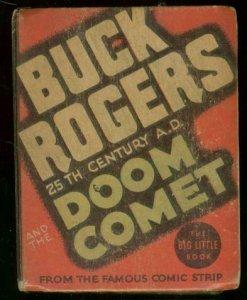 BUCK ROGERS #1178-BIG LITTLE BOOK-DOOM COMET SCI FI '35 FN