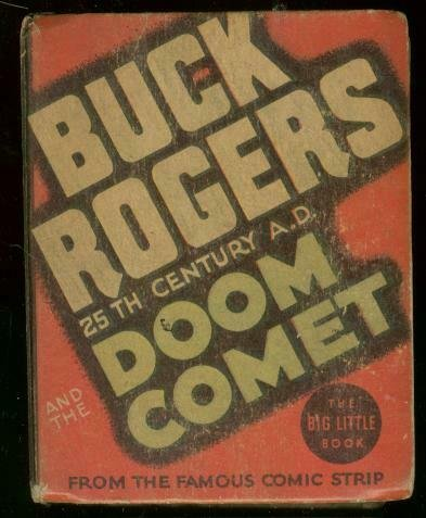 BUCK ROGERS #1178-BIG LITTLE BOOK-DOOM COMET SCI FI '35 FN