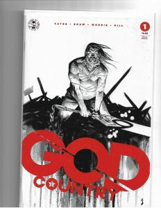 GOD COUNTRY #1 - 4TH PRINT - NM/NM+ DONNY CATES - HOT COMIC