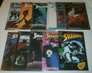 Shadow (DC vol. 3) #1,10,15-19, Annual #1,2 + (set of 11) Kyle Baker