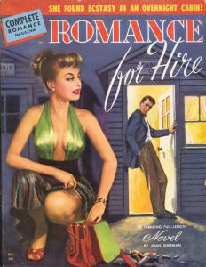 Complete Romance 12/1949-Spicy Good Girl art-spanking photo-lurid pulp-FN/VF