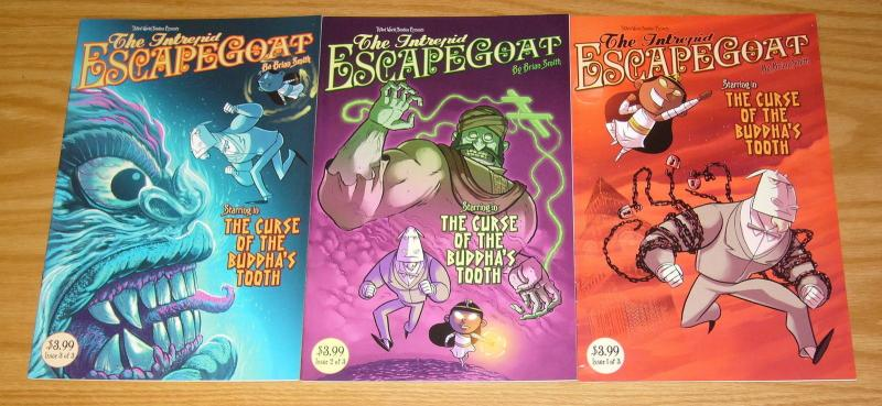 the Intrepid Escape Goat #1-3 VF/NM complete series - TH3RD World Studios set 2