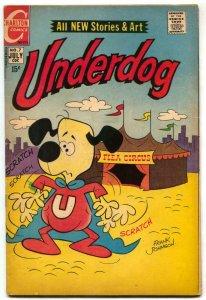 Underdog #7 1971- Charlton Comics VG