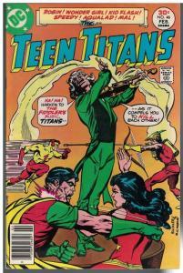 TEEN TITANS (1966) 46 FN  Feb. 1977 JOKERS DAUGHTER BE
