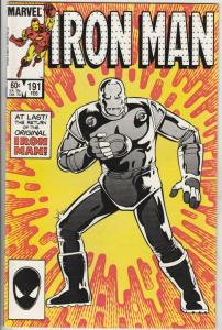 Iron Man #191 (Feb-86) NM+ Super-High-Grade Iron Man