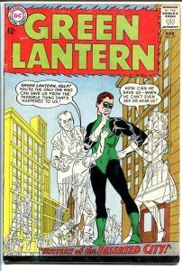 GREEN LANTERN #27 1964-DESERTED CITY-DC COMICS VG-