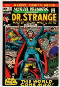 Marvel Premiere DR. STRANGE Master of the Mystic Arts  #3 1972 FN+ (PF442)