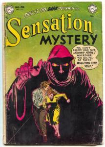 Sensation Mystery #113 1953-DC comics-PRE-CODE HORROR- G+