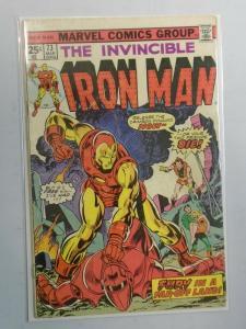 Iron Man #73 (1975 1st Series) 4.0/VG