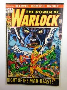 Warlock #1 (1972) FN