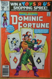 Marvel Premiere #56 (1980) Dominic Fortune ! Newstand edition !