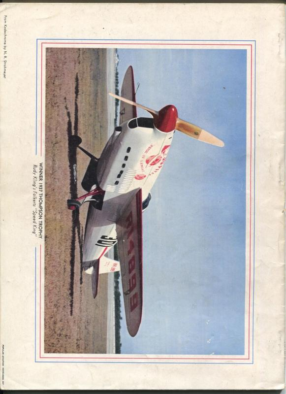 Popular Aviation 7/1937-Gwinn Aircar pulp style cover-bombers-VG