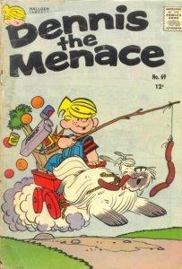 Dennis the Menace (1953 series) #69, Good+ (Stock photo)