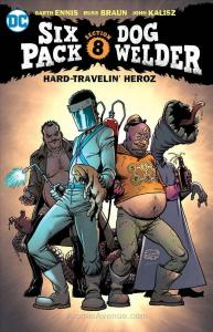 Sixpack and Dogwelder: Hard-Traveling Heroez TPB #1 VF/NM; DC | save on shipping