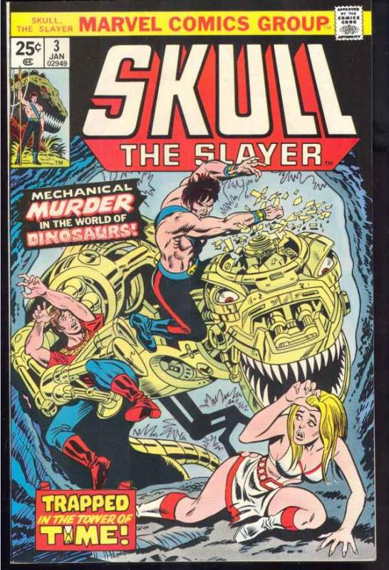 Skull the Slayer #3 (Jan-76) NM- High-Grade Skull the Slayer