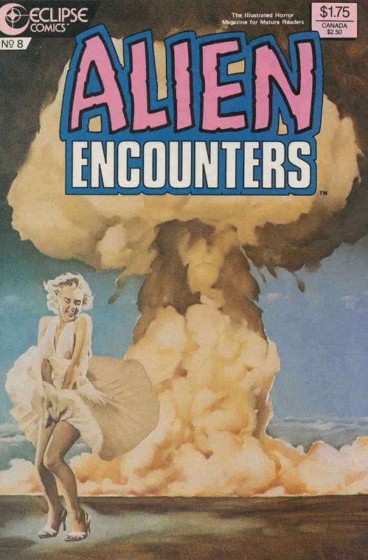 Alien Encounters (Eclipse) #8 VF/NM; Eclipse | save on shipping - details inside