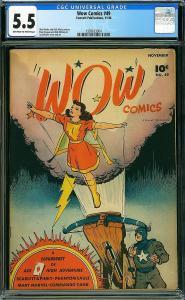 Wow Comics #49 (Fawcett, 1946) CGC 5.5