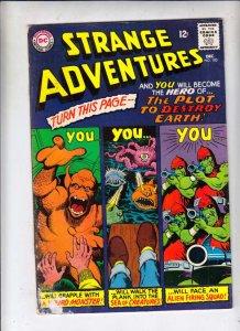 Strange Adventures #183 (Dec-65) GD Affordable-Grade