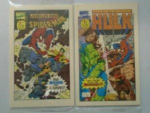 Spider-Man Drakes Cakes Mini Comics set #1-4 Polybagged NM (1993)